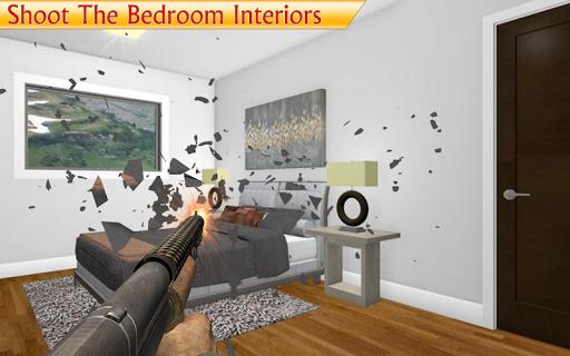 destroy the house - smash interiors home free game screenshot 2
