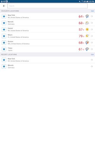 Foreca Weather 4.24.3 Screenshots 12