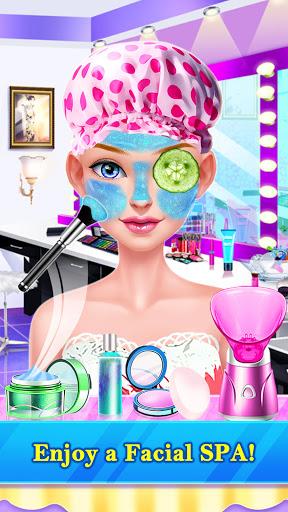 Hair Stylist Fashion Salon u2764 Rainbow Unicorn Hair screenshots 8