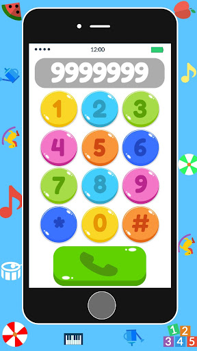 Baby Real Phone. Kids Game 2.1 Screenshots 1