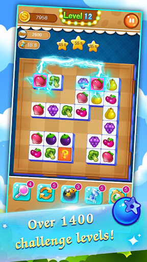 Fruit Connect: Free Onet Fruits, Tile Link Game 1.30201 screenshots 4