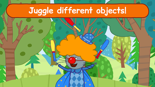 Kid-E-Cats Circus Games! Three Cats for Children  screenshots 4