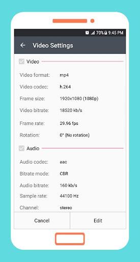 To mp4 3gp webm Video Converter app apktram screenshots 3