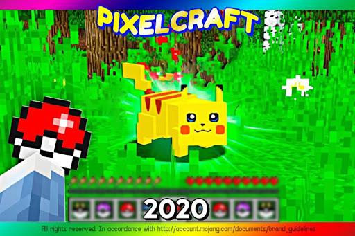 Mod Pokecube For MCPE + Skins Pixelmon  screenshots 1