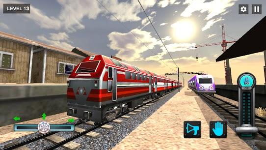 New Train Racing Game 2021 –Offline Train Games 3D 6