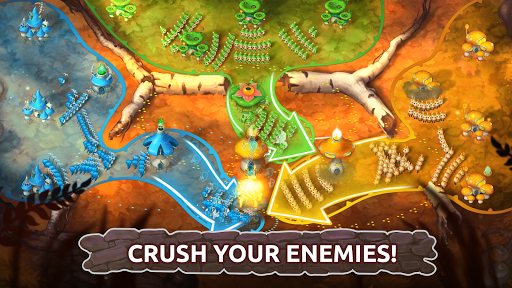 Mushroom Wars 2: Real-time war strategy ud83cudf44 Defense  screenshots 2