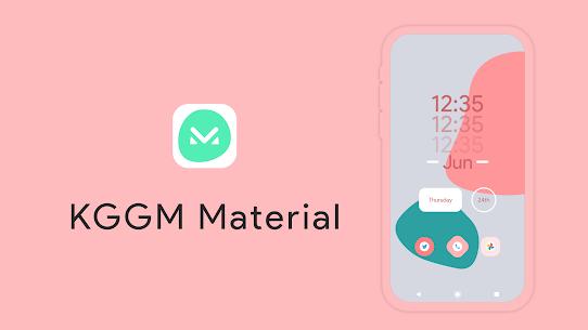 KGGM Material for KWGT APK 5