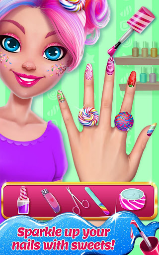 Candy Makeup Beauty Game - Sweet Salon Makeover 1.1.8 screenshots 3