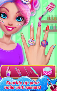 Candy Makeup Beauty Game - Sweet Salon Makeover