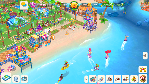 My Little Paradise : Resort Management Game Apkfinish screenshots 16