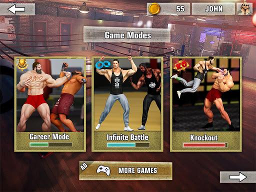 Bodybuilder Fighting Games: Gym Trainers Fight  screenshots 12