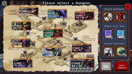Dungeon Princess! : Offline Pixel RPG apkpoly screenshots 6