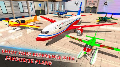 Airplane Pilot Flight Simulator New Airplane Games  Screenshots 13