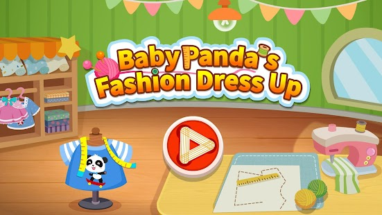 Baby Panda's Fashion Dress Up Game Screenshot