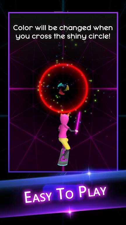 Cyber Surfer: EDM & Skateboard & Coloring Game  poster 4