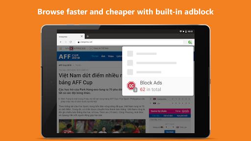 Cu1ed1c Cu1ed1c Browser - Browse web fast & secured 89.0.244 Screenshots 9