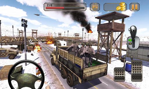 army truck driving truck simulator: driving games screenshot 3