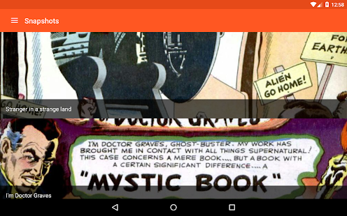 Astonishing Comic Reader Screenshot
