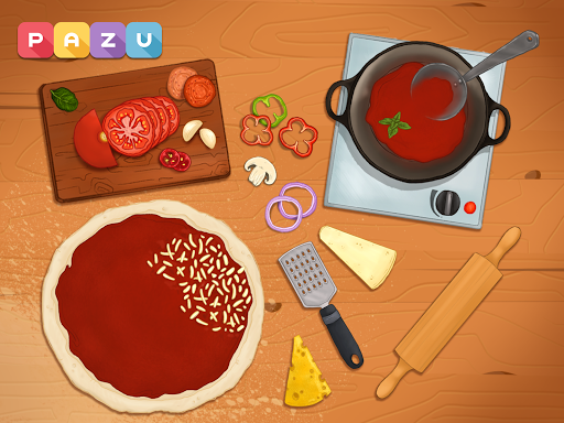 Pizza maker - cooking and baking games for kids 1.14 Screenshots 8
