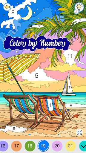 Happy Canvas™ - Coloring by Numbers screenshots 2