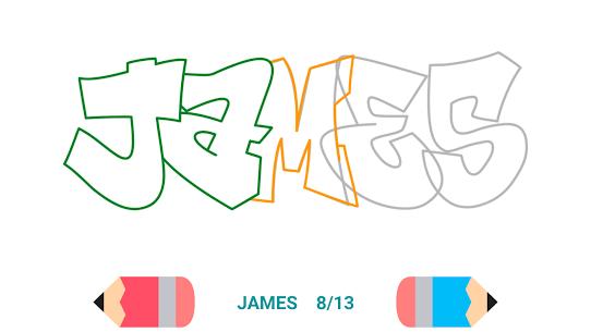 How to Draw Graffiti – Name Creator 3