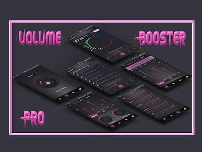 Volume Booster Pro & Music Equalizer Screenshot