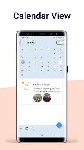 Daynote - Diary, Journal, Private Notes with Lock apktram screenshots 6