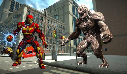 Iron Spider Ultimate Superhero Rope 2.1 screenshots 1