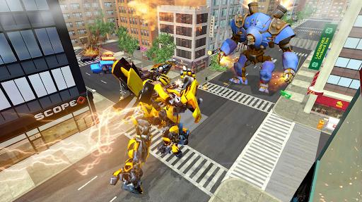 Robot Car Transformation: 3D Transformation Games 1.1.12 screenshots 4