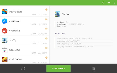 Apk Share Bluetooth - Send/Backup/Uninstall/Manage 3.4.5 Screenshots 11
