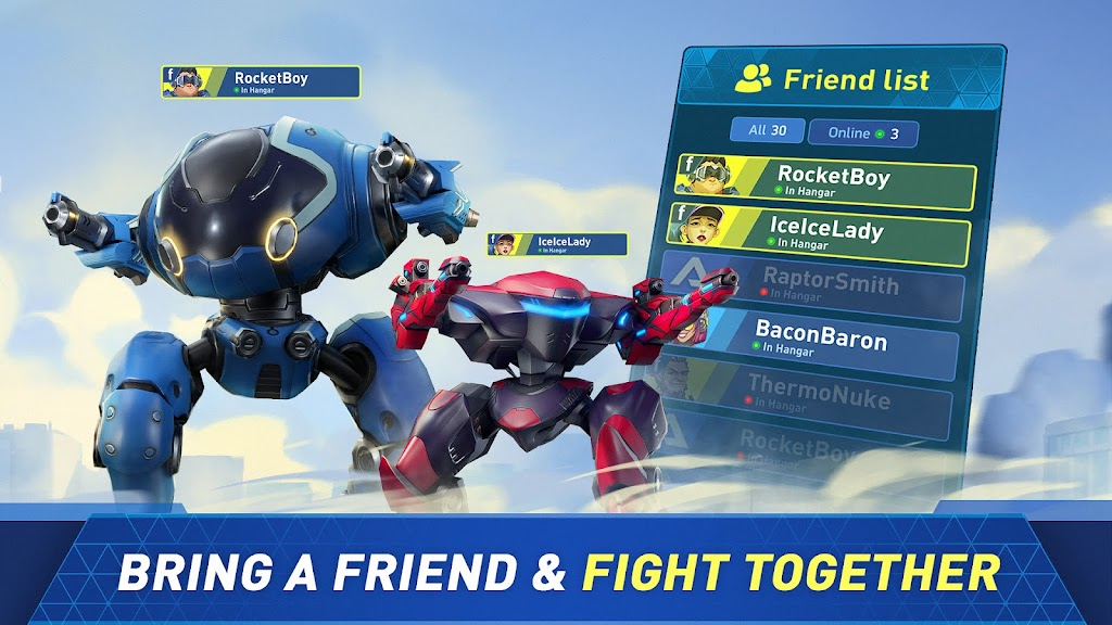Mech Arena: Robot Showdown poster 1
