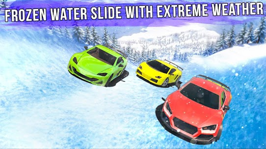 Frozen Water Slide Car Race Aqua Park adventure Apk , Frozen Water Slide Car Race Full Download 5