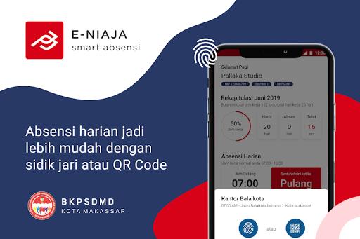 eNiaja Smart Absensi Kota Makassar apktram screenshots 3
