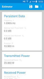 Field Strength & Power Estimator