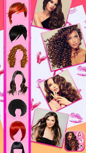 Hairstyle Camera Beauty : Hair Changer Photo Edit 1.2 Screenshots 8