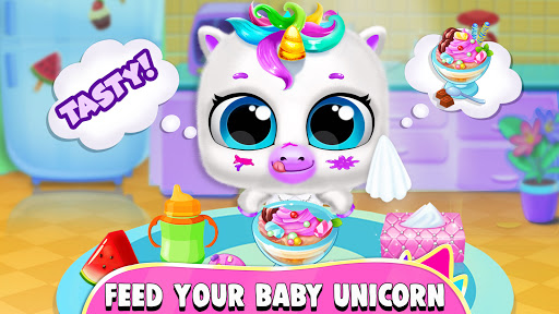 Pregnant Unicorn Mom And Baby Daycare 0.13 screenshots 3