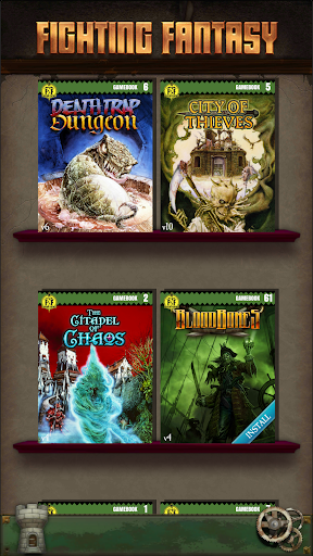 Fighting Fantasy Classics u2013 text based story game apkdebit screenshots 1
