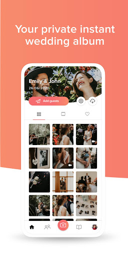 WedShoots - Wedding Photo Sharing 3.1.13 screenshots 1