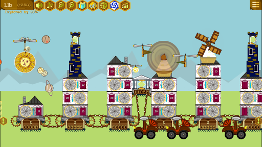 Steampunk Idle Spinner: Coin Machines android2mod screenshots 6