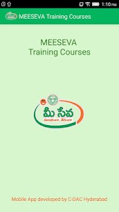 Meeseva Training  Apps For Pc (2020), Windows And Mac – Free Download 1
