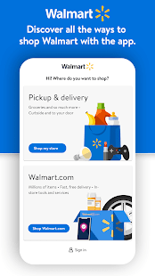 Walmart Shopping & Grocery Screenshot
