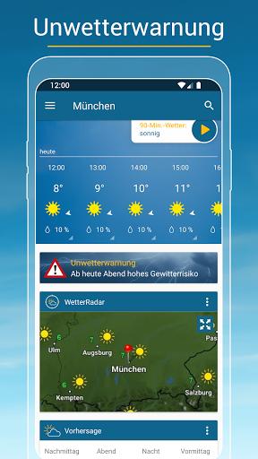 RegenRadar - mit Unwetterwarnung apktram screenshots 6