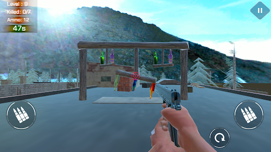 BOTTLE SHOOTING RANGE – ACCURACY TRAINING Game Hack Android and iOS 5
