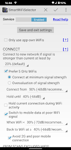 Smart WiFi Selector: connects to strongest WiFi 2.3.5.1 Apk 1