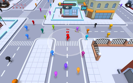 Move.io: Move Stop Move - Stickman Crowd 3D 0.0.56 screenshots 16