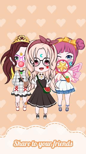 Chibi Dolls: Dress up Games & Avatar Creator 1.0.5.1 screenshots 4
