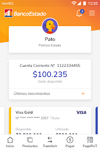 BancoEstado Screenshot