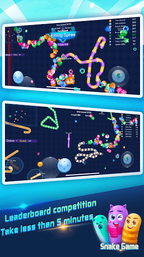 Snake Rivals.io - Slithery Eater in Worm Battle 1.7.2 screenshots 3
