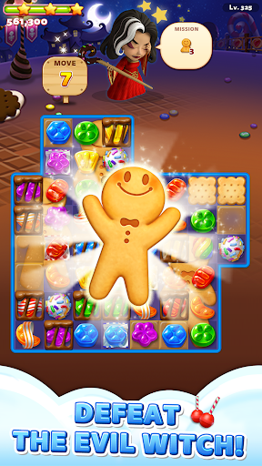 Sweet Road: Cookie Rescue Free Match 3 Puzzle Game 6.8.0 screenshots 1