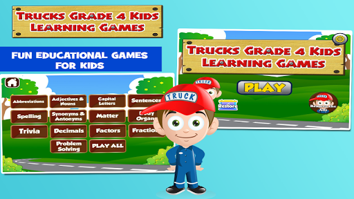 4th Grade Educational Games 3.20 screenshots 1